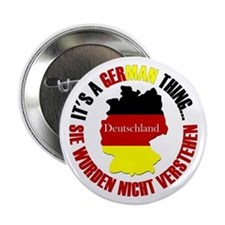 "German Thing 2.25"" Button"