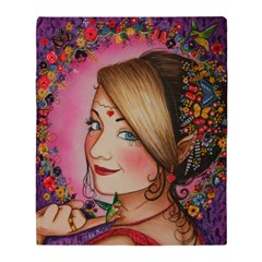 Humming Brid Princess Covers Throw Blanket