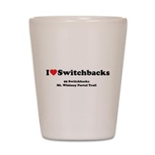 Switchbacks Mt. Whitney Shot Glass