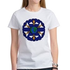Bees On the Earth Flower Tee