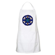 Bees On the Earth Flower Apron