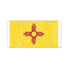 Vintage New Mexico Aluminum License Plate