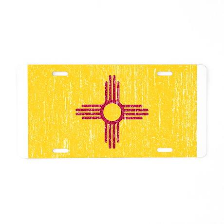 Vintage New Mexico Aluminum License Plate
