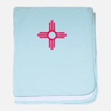 Vintage New Mexico baby blanket