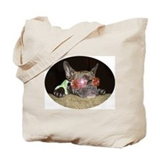 Chill'n Frenchie Tote Bag