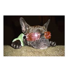 Chill'n Frenchie Postcards (Package of 8)
