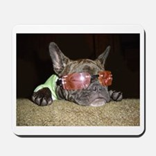 Chill'n Frenchie Mousepad