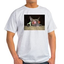 Chill'n Frenchie Ash Grey T-Shirt