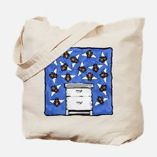 Langstroth and Bees Tote Bag