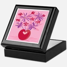 Retro Bouquet Keepsake Box