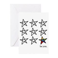 be you Greeting Cards (Pk of 10)