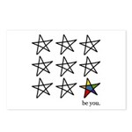 be you Postcards (Package of 8)