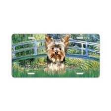 Bridge - Yorkie 17 Aluminum License Plate