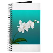 Cute Orchid wedding Journal