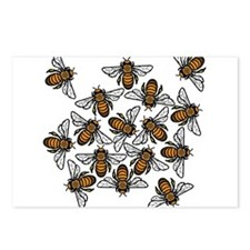 Bee Gathering Postcards (Package of 8)