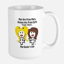 divorce men suck men-are-from-mars-t-shirt Mugs