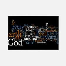 Cool God evolution Rectangle Magnet (10 pack)