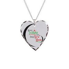 Twilight New Moon Christmas Necklace