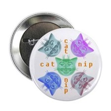 """Kitty hours 2.25"""" Button"""