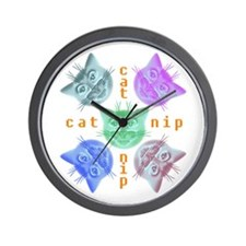 Kitty hours Wall Clock