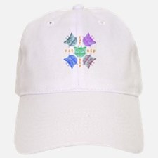 Kitty hours Baseball Baseball Cap