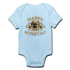 Happy Mother's Day Bull Mastiff Infant Bodysuit