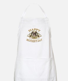 Happy Mother's Day Boston Terrier Apron