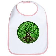 Circle Celtic Tree of Life Bib
