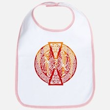 Celtic Knotwork Dragons Fire Bib