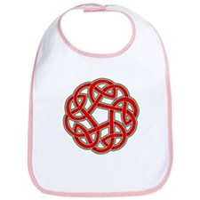 Celtic Christmas Knot Bib