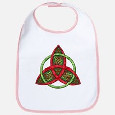 Celtic Holiday Knot Bib