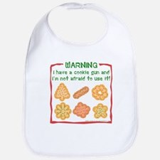 Christmas Cookies Bib