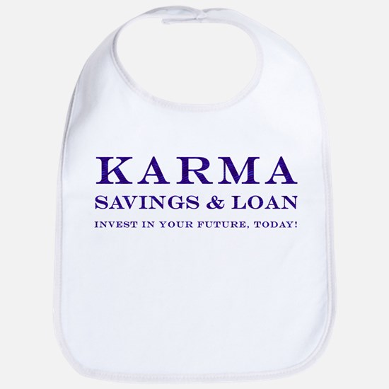 Karma Savings Loan Bib