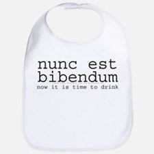 Now It Is Time To Drink-Latin Bib