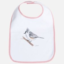 Tufted Titmouse Bib