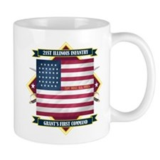 21st Illinois Infantry Mug