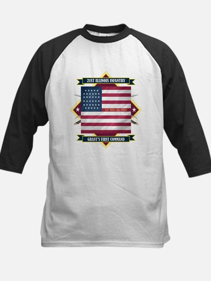 21st Illinois Infantry Kids Baseball Jersey
