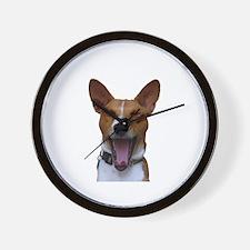 Cute Yawning Wall Clock