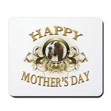 Happy Mother's Day Bassett Hound Mousepad