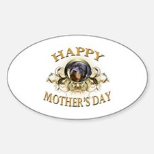 Happy Mother's Day Rottweiler2 Decal
