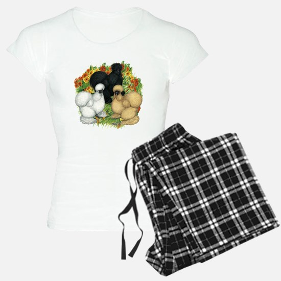 Flower Garden Silkies pajamas