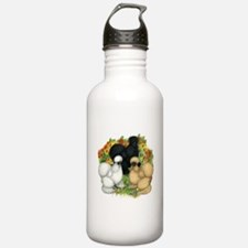 Flower Garden Silkies Water Bottle
