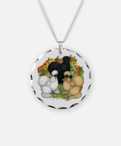Flower Garden Silkies Necklace