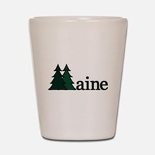 Maine Pine Tree Shot Glass