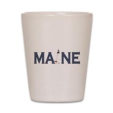 Maine Lighthouse Shot Glass