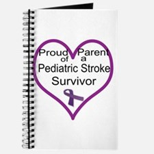 Heart of a parent-purple Journal