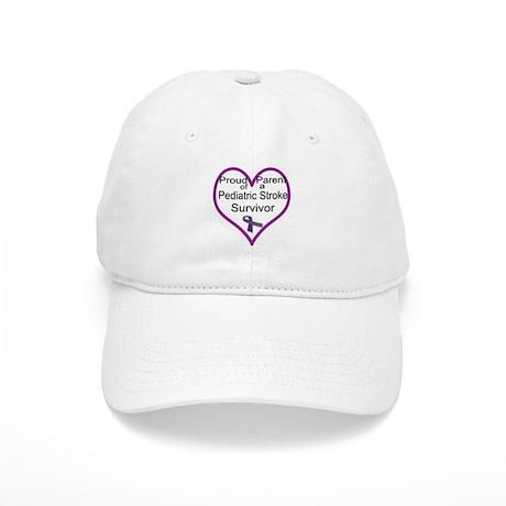 Heart of a parent-purple Cap
