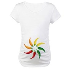 Hot Peppers Colorful Shirt
