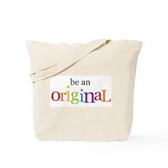 Be an Original (boy) Tote Bag