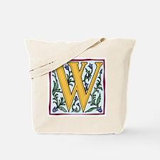 "Garden ""W"" in Gold Tote Bag"